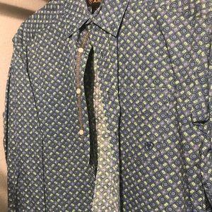 Men's Ariat Long sleeve Dress shirt